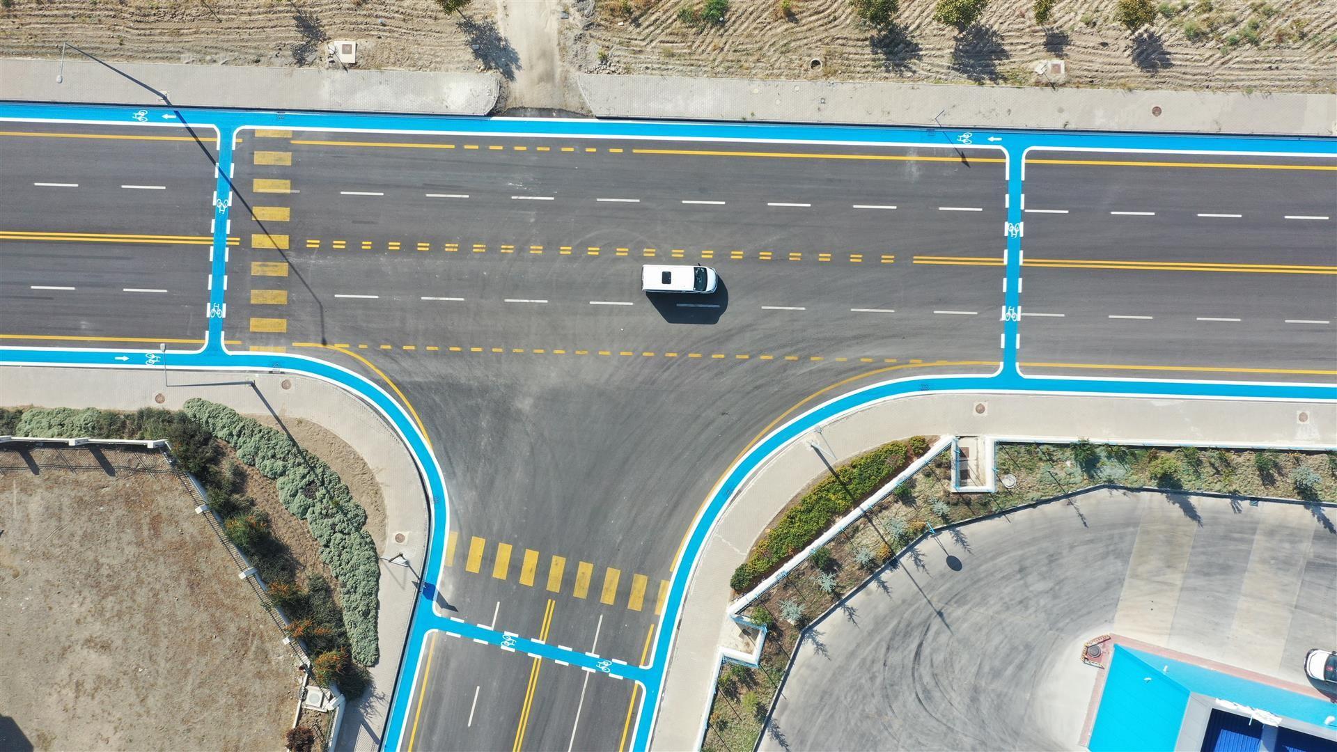 Üniversitelerden sonra organize sanayi bölgeleri de, mavi yol ile tanışıyor