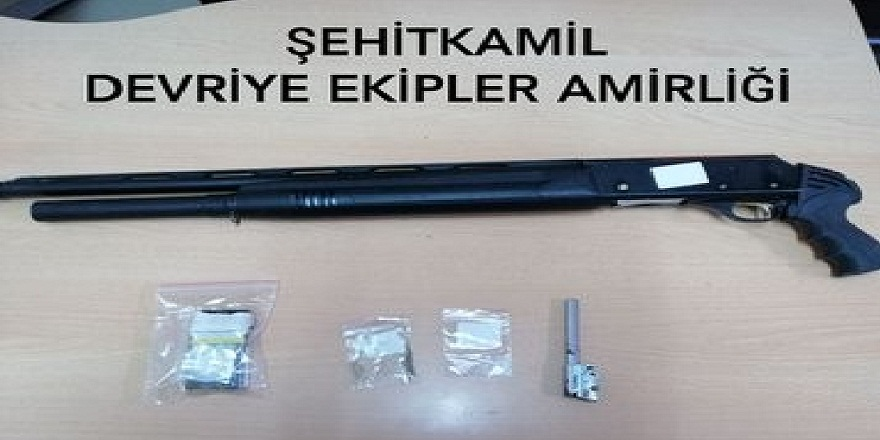 Gaziantep Emniyet Müdürlüğü tarafından uygulanan huzur operasyonunda 157 kişiye cezai işlem