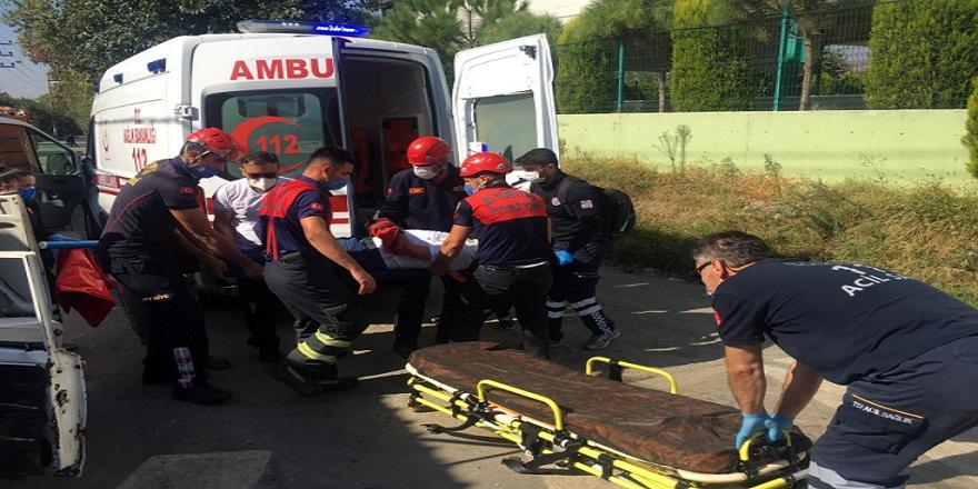 Aydın Efeler'de trafik kazası: 2 yaralı