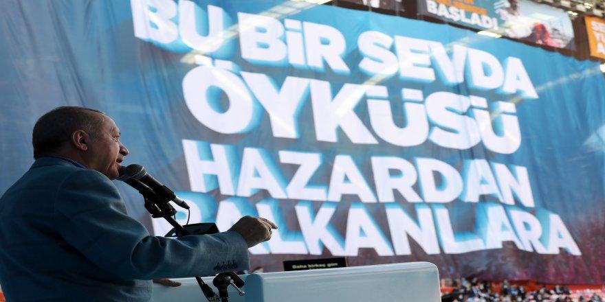 """7. Olağan Kongresine katılan Cumhurbaşkanı Recep Tayyip Erdoğan: """"Biz güçlü durdukça Türkiye de güçlü duracaktır"""""""