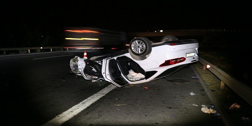 Osmaniye'de, feci trafik kazası: 2 ölü 9 yaralı