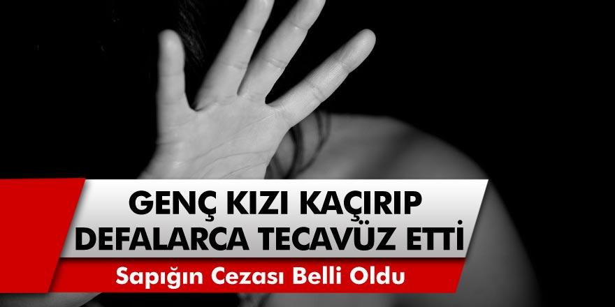 Cani adam 14 yaşındaki kızı kaçırıp defalarca tecavüz etti! Ailesini tehdit eden sapığa verilecek ceza belli oldu…