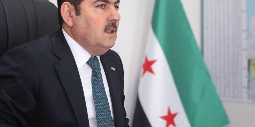 Suriye Geçici Hükümeti Başkanı Abdurrahman Mustafa, korona virüse'e yakalandı