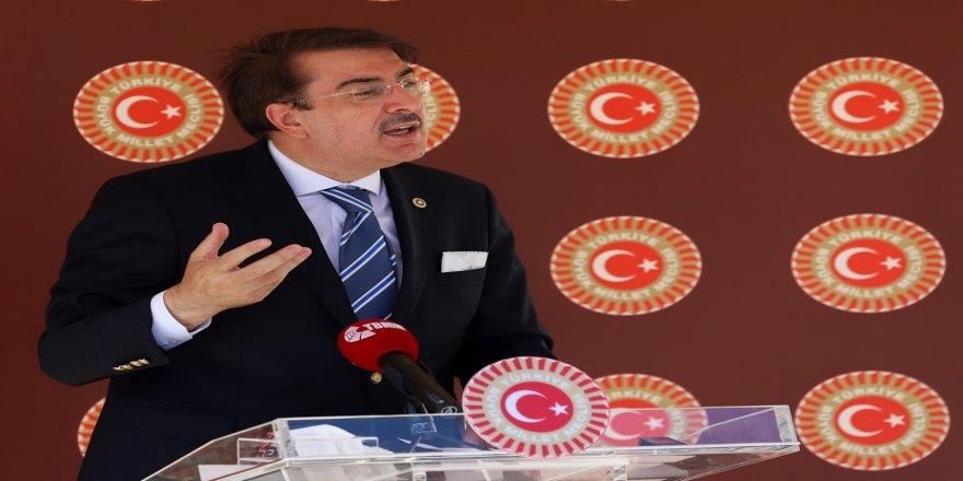 Milletvekili İbrahim Aydemir:  'Yüce Milletimiz şehitlerinin izinde'