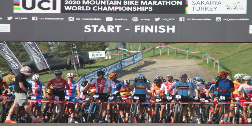 30 Ülke,104 sporcunun katıldığı 2020 Dünya Dağ Bisikleti Şampiyonası'nda, Sakarya ev sahipliği yaptı