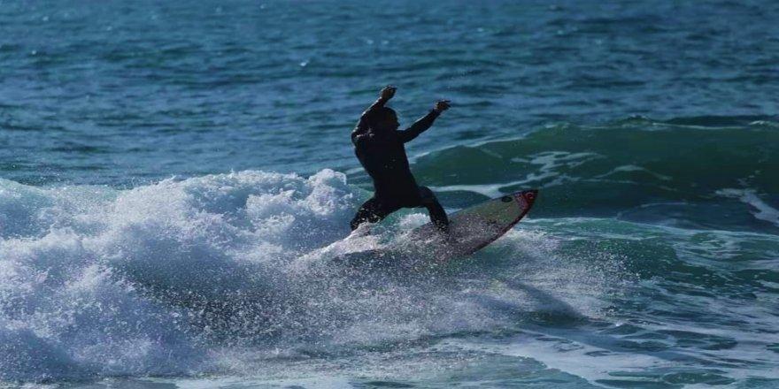 Milli sörfçü Yasin Pehlivan, olimpiyatlara hazırlanıyor