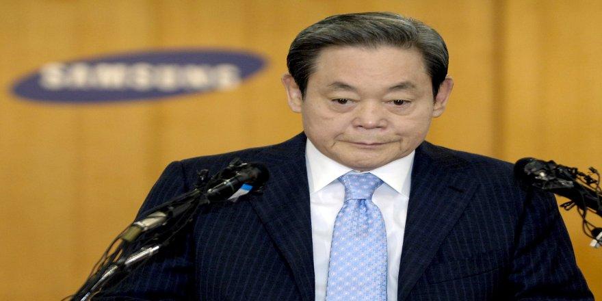 Samsung'un Yönetim Kurulu Başkanı Lee Kun-Hee, 78 yaşında hayatını kaybetti