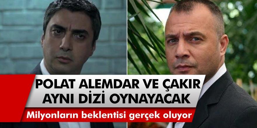 Milyonların hayali gerçek oluyor! Polat Alemdar ve Çakır aynı dizide oynayacak!