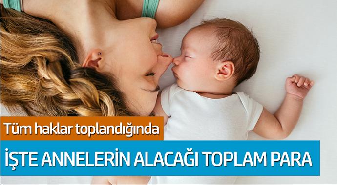 Milyonlarca çalışan anneler dikkat devletten 7 Bin 325 Lira ödeme