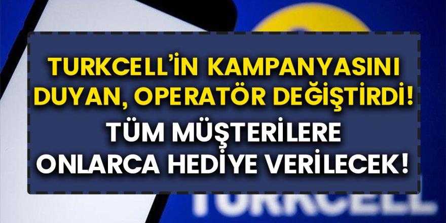 Turkcell Öyle Bir Kampanya Yaptı Ki, Herkes Turkcell'e Geçiş Yapmaya Başladı! Herkese 10 GB Bedava İnternet Verilecek…