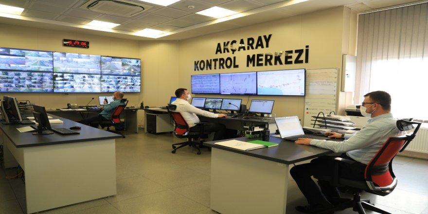 Kocaeli Belediyesi Akçaray'ı, 400 kamera ile uzaktan kontrol ediyor