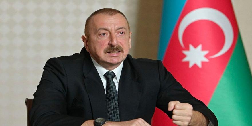 """Azerbaycan Cumhurbaşkanı Aliyev duyurdu: """"Gubadlı şehri işgalden kurtarıldı"""""""