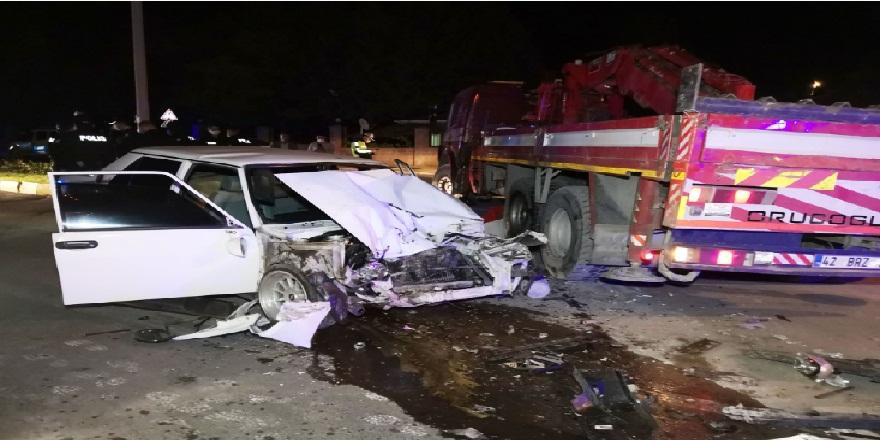 Aksaray'da polisin 'dur' ihtarına uymayan sürücü vince çarparak yaşamını yitirdi