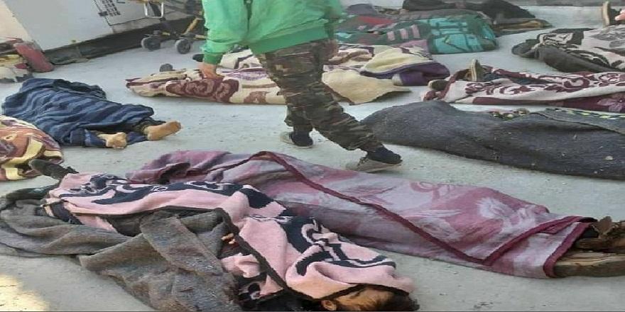İdlib'de eğitim kampı Rus savaş uçakları tarafından bombalandı! 75 ölü