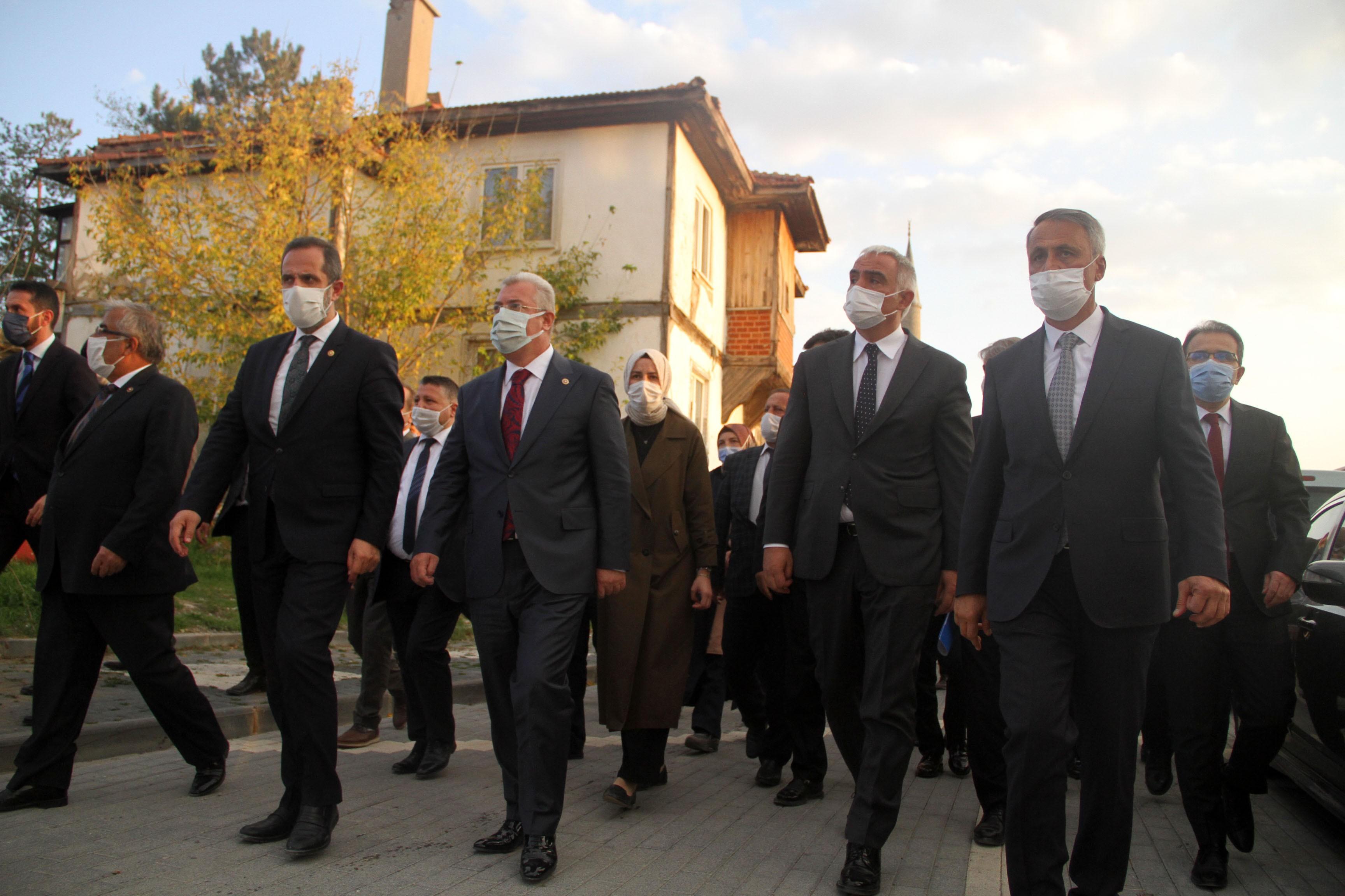 Kültür ve Turizm Bakanı Mehmet Nuri Ersoy, Çerkeş'te bir dizi ziyarette bulundu