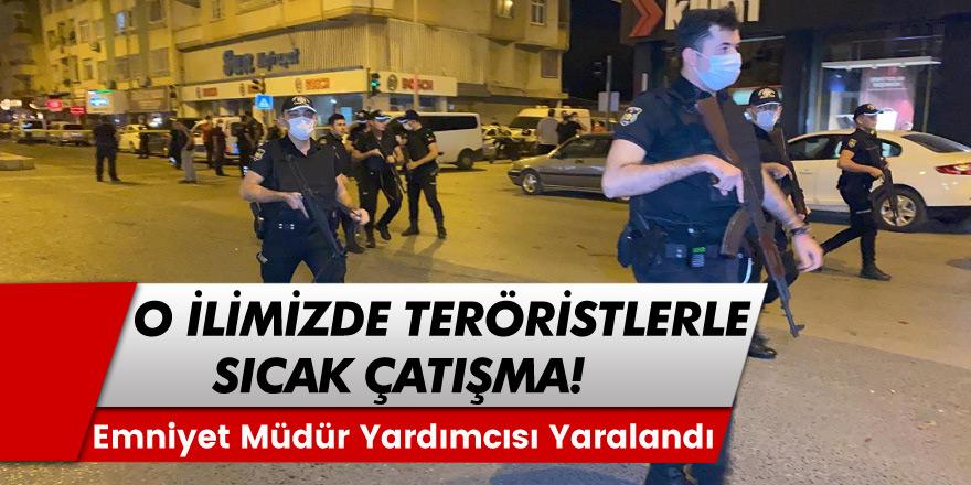 Hatay İskenderun'da emniyet güçleri ve teröristler arasında sıcak çatışma!