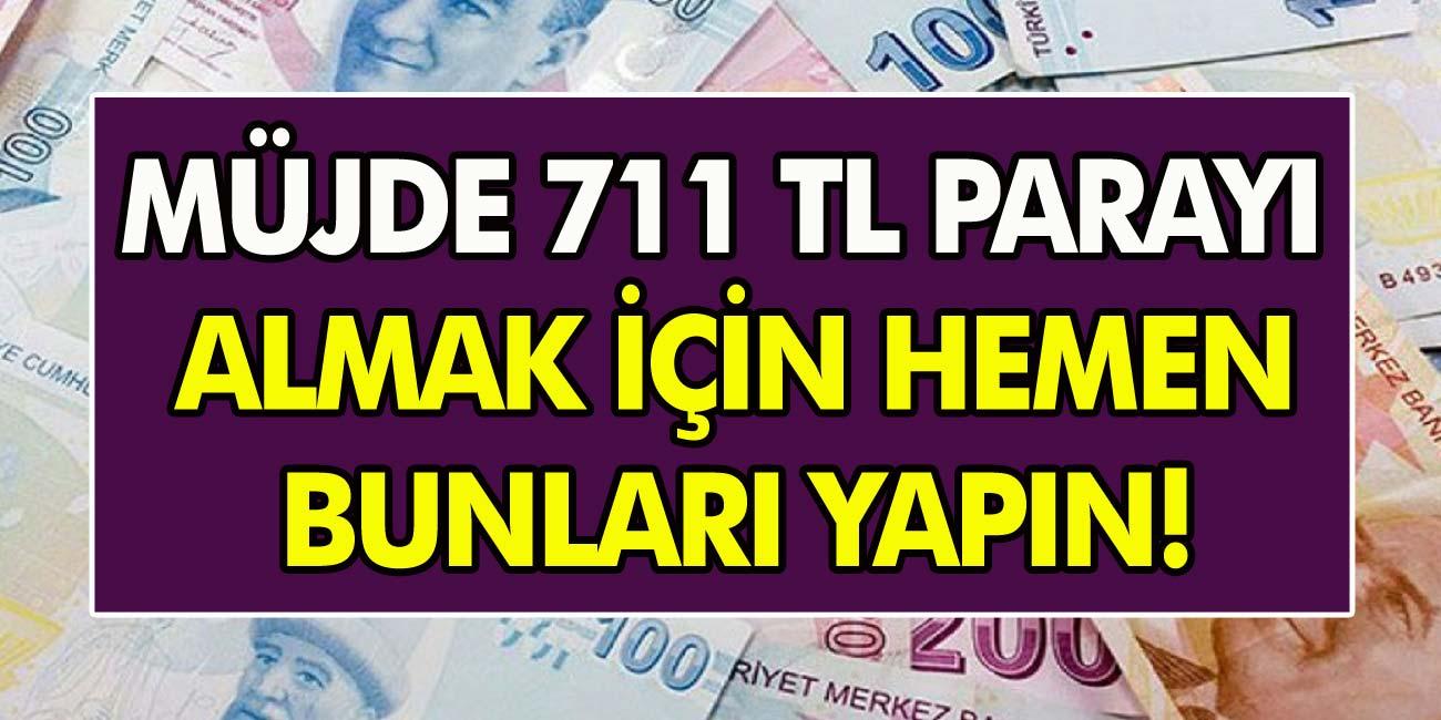 PTT'den anında nakdi ödeme: SGK herkese yardım edecek! 711 TL para almak için hemen başvuru yapın…