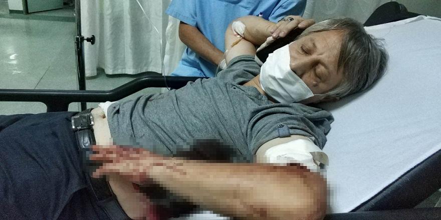 Samsun'da, bir baba 16 yaşındaki oğlu tarafından bıçaklandı