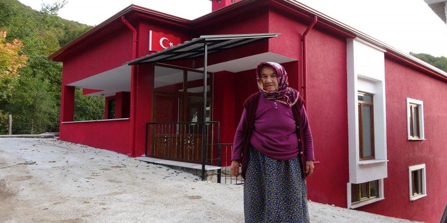 Şehidin evi, 3 ayda yeniden inşa edildi