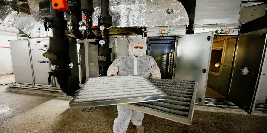 Uzay istasyonlarında kullanılan havalandırma sistemi, İstanbul'da bazı AVM'lerde kullanılmaya başlandı
