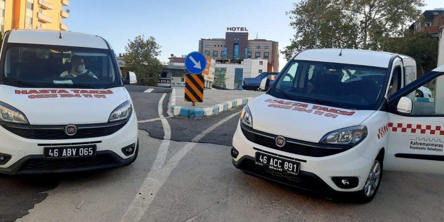 """Kahramanmaraş'ta filyasyon faaliyetlerine destek vermek için """"hasta taksi"""" uygulaması"""