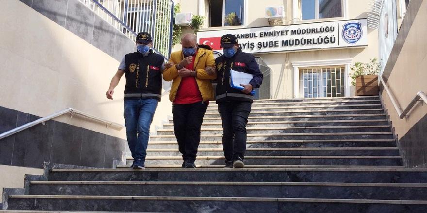 İstanbul'da internet sitesi üzerinden ulaştığı satılık araçları test etme bahanesi ile çalan hırsız yakalandı