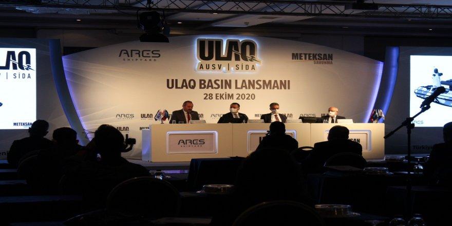 """Milli ilk muharip insansız deniz aracı, """"ULAQ"""" tanıtıldı"""