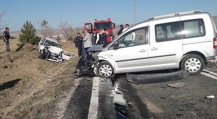 Çankırı'da Trafik Kazası 3 Ölü!