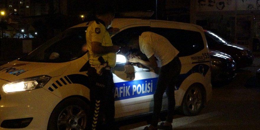 Polisler ehliyetsiz ve alkollü sürücüleri affetmediler