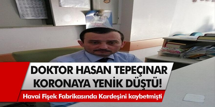 Sakarya'da, iç hastalıkları uzmanı doktor, Hasan Tepeçınar korona virüse yenildi!
