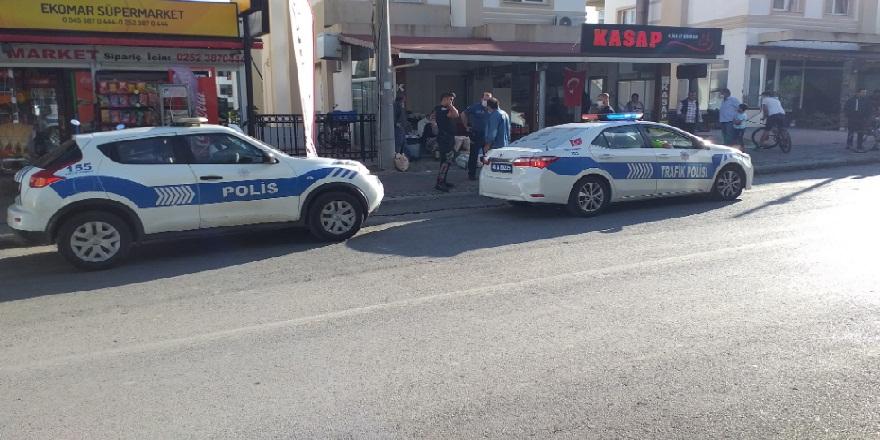Muğla Bodrum'da, bir kasap dükkanının önünde silahlı saldırıya uğradı