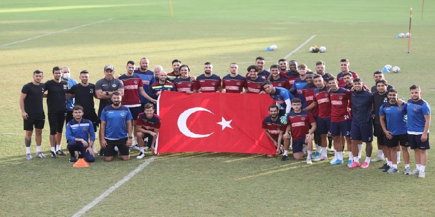 Alanyaspor, Göztepe maçı için çalışmalarını sürdürdü!