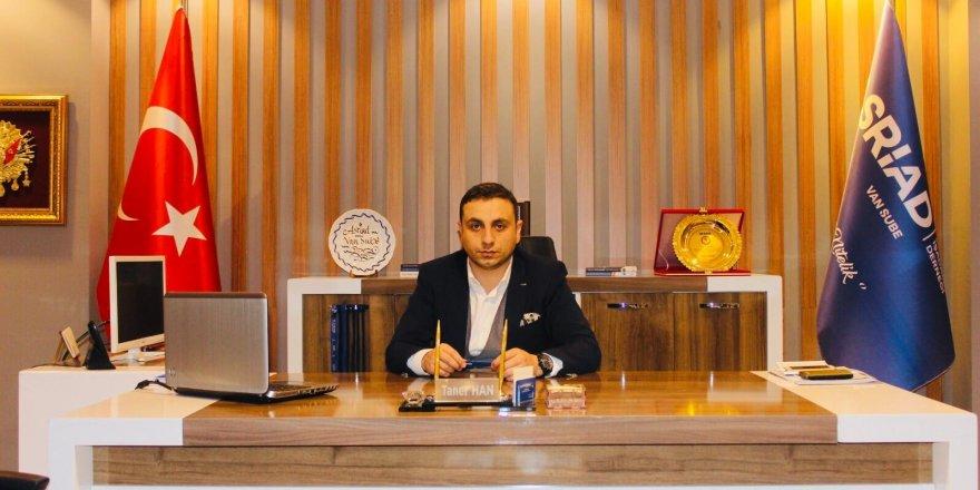 Van Şube Başkanı ASRİAD Kapıköy Sınır Kapısının açılmasını istedi