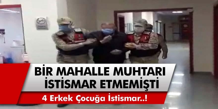 Tokat'ta Mahalle Muhtarı 4 erkek Çocuğa İstismar Etti! Bir Mahalle Muhtarı Etmemişti Oda Oldu!