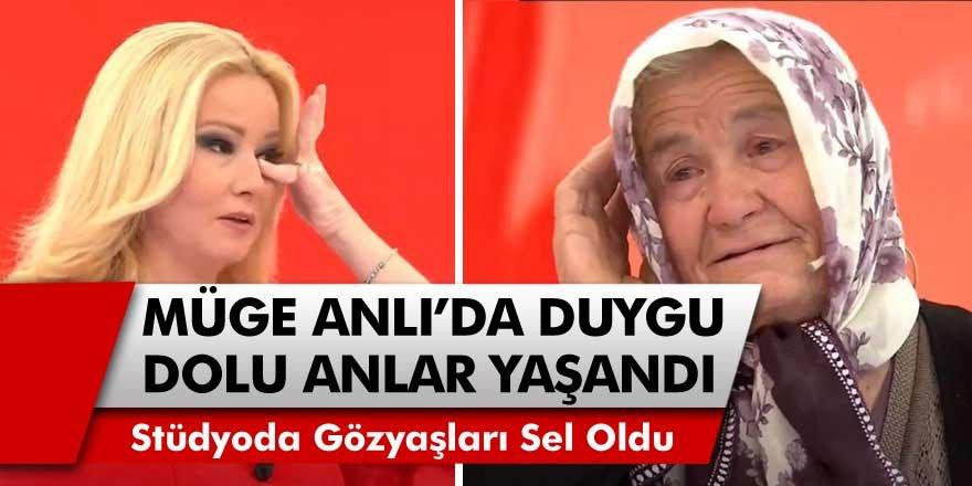 Müge Anlı'da duygu dolu anlar! 84 yaşındaki kadın konuştu, Türkiye Ağladı!