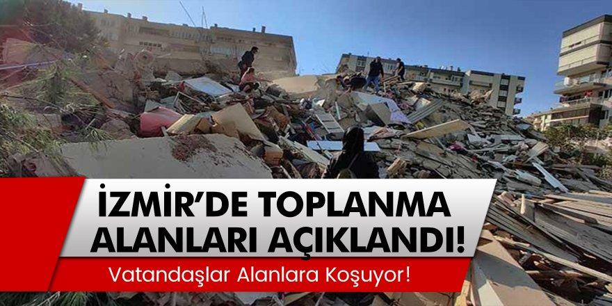 İzmir'de Büyük Bir Deprem Yaşandı! İzmir Deprem Sonrası Toplanma Yerleri Belli Oldu...