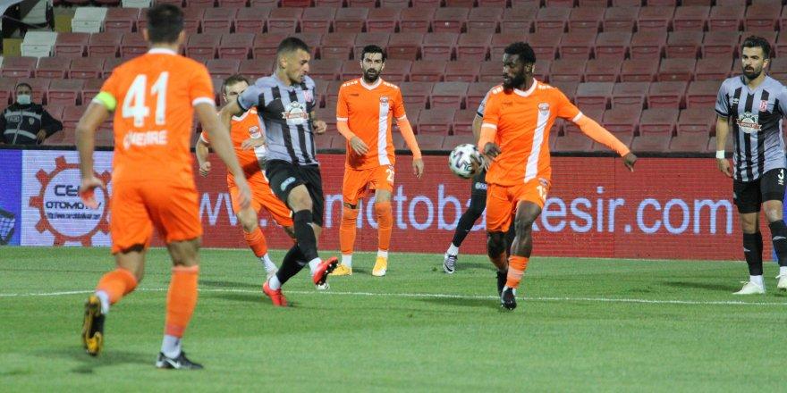 Adanaspor: 2 Balıkesirspor: 0  (İlk yarı)