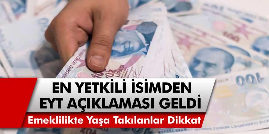 Cumhurbaşkanı Erdoğan'dan EYT Açıklaması… Emeklilikte Yaşa Takılanlar Dikkat! Son Gelişmelerle Kimin Emekli Olabileceği Açıklandı…