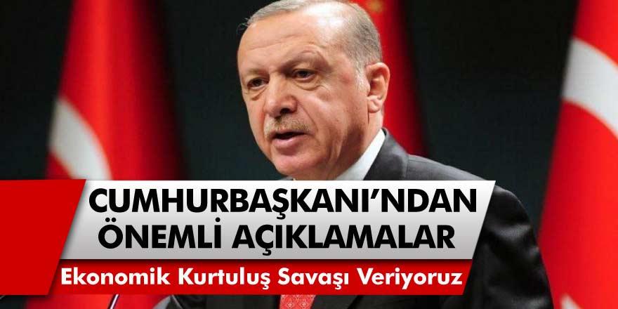 Cumhurbaşkanı Erdoğan, Van'da Önemli Açıklamalarda Bulundu! 'Yeni Bir Ekonomik Kurutuluş Savaşı Veriyoruz'