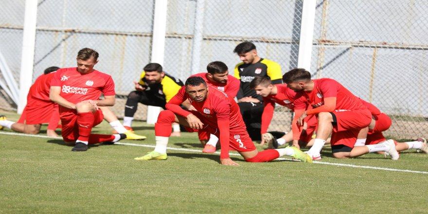 Hatayspor maçı hazırlıkları, Sivasspor'da devam etti