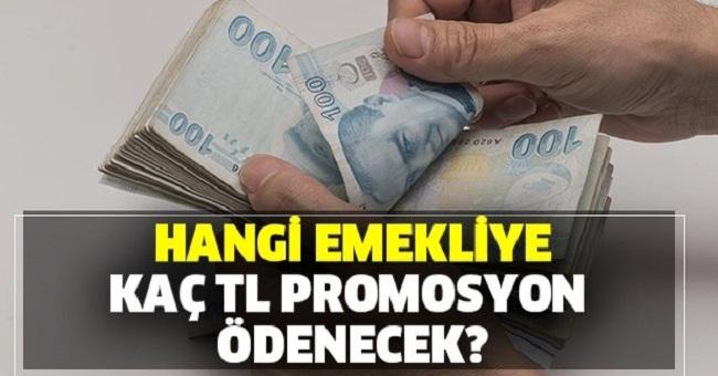 Mart'ta bankalar hangi emekliye kaç TL promosyon ödeyecek?