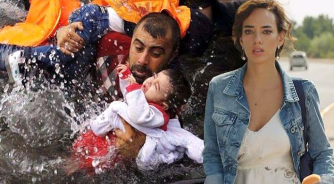 Mülteci çocukları görünce Seda Bakan, sütten kesildi
