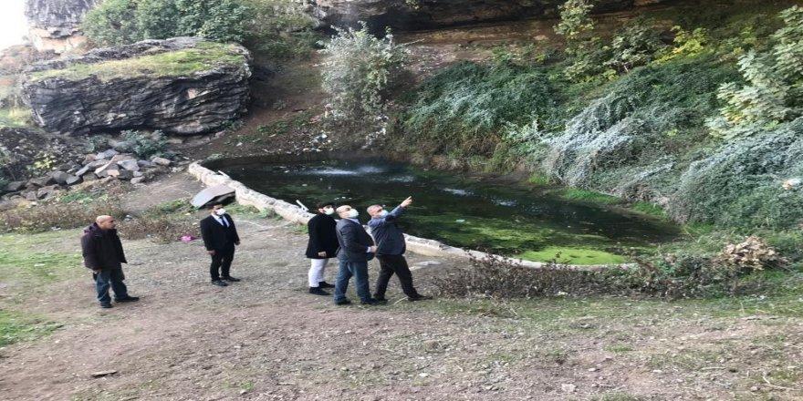 Diyarbakır'da,  Fiskaya şelalesi için çalışmalar başladı