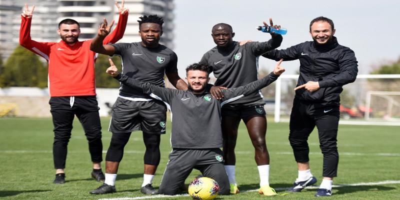 Denizlispor, Fenerbahçe hazırlıklarını sürdürdü