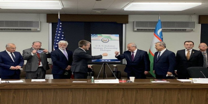 """ABD ve Özbekistan arasında """"Stratejik Ortaklık Diyaloğu"""" bağı kuruldu"""