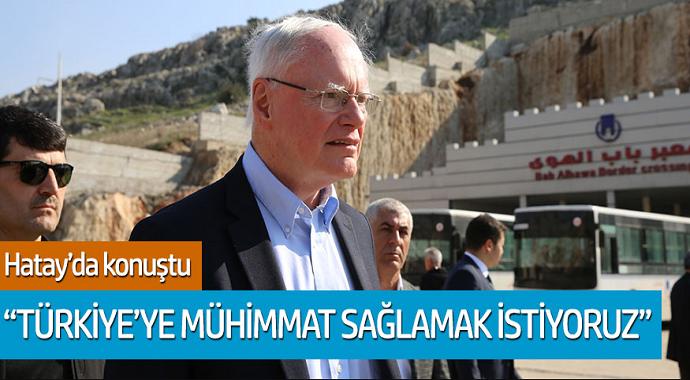 Kelly Craft konuştu: Türkiye'ye mühimmat sağlamak istiyoruz...
