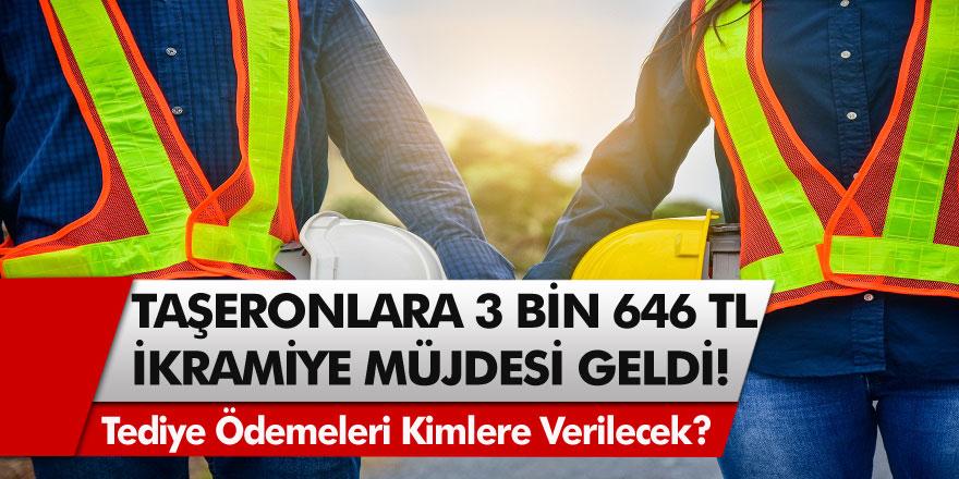 Milyonlarca işçiyi yakından ilgilendiren haber geldi! 4D'li taşeronlar için 3.646 TL ikramiye ödemesi için sayılı günler…