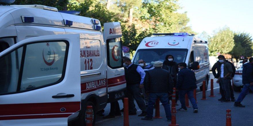 Siverek Belediyesi hukuk danışmanı silahla vurularak yaralandı
