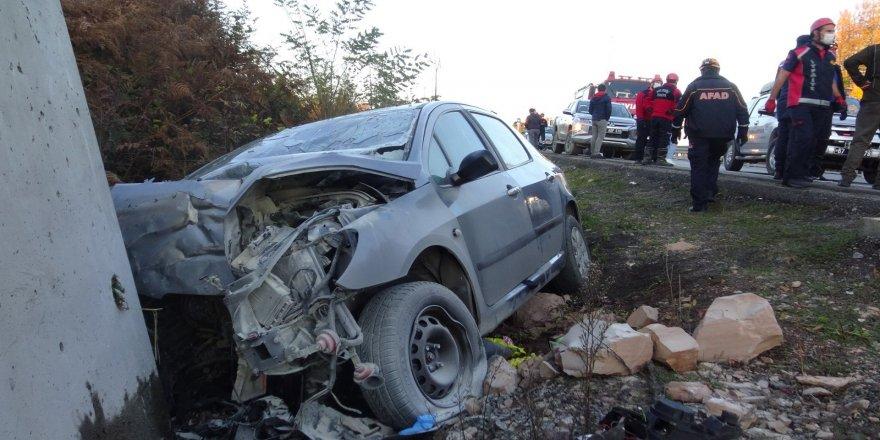 Zonguldak'ta meydana gelen feci kazada 1'i bebek 2 öldü, 2  kişi yaralı