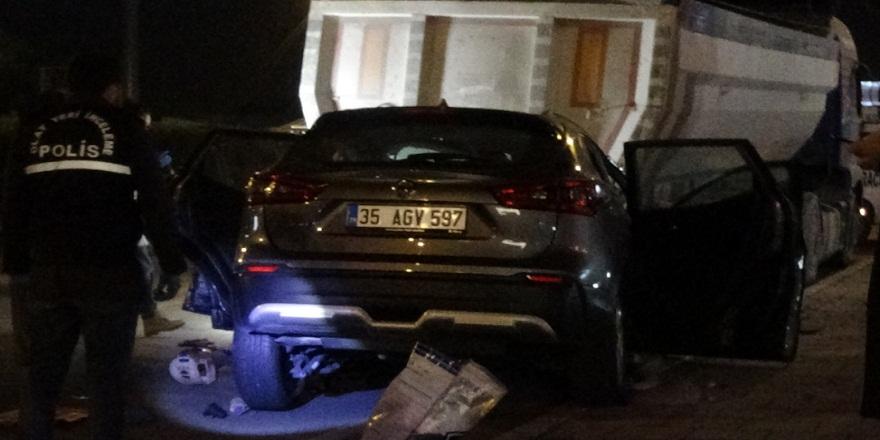 İzmir Gaziemir'de meydana gelen trafik kazasından polis memuru yaşamını yitirdi!